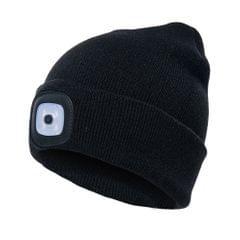Unisex Kintted Hat Built-in 4Pcs Led Lights Autumn Winter