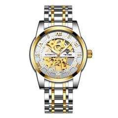 TEVISE Men Automatic Self-Wind Watch Men Mechanical Business - 1