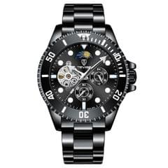 TEVISE Men Automatic Mechanical Watch Analog Chronograph