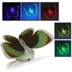 Changing Color Fiber Optic LED Butterfly