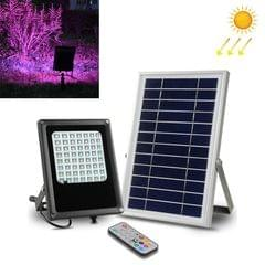 6W 56 LEDs Solar Light Outdoor Landscape Garden Colorful Lamp with Remote Control