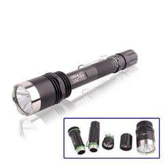 TrustFire X8 Super Bright LED Flashlight , Compatible with 1 Li-18650 Lithium Battery (Black)