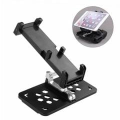 Foldable Phone / Tablet Holder for DJI Mavic Pro & Spark Transmitter, Suitable for 5.5 inch or Larger Smartphone / 13-18.5cm Width Tablet (Black)