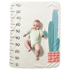 100x72cm Newborn Photography Blanket (Cactus)