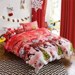 Comforter Duvet Cover Set Merry Christmas Gift Bedding Set