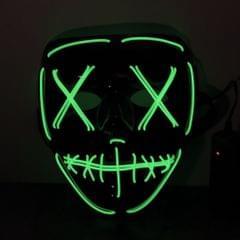 Adults Halloween LED Light Up Mask Halloween Costume