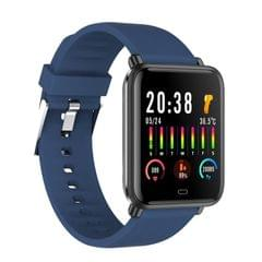 Q9T 1.3 inch TFT Color Screen Smart Watch IP67 Waterproof,Support Temperature Monitoring/Heart Rate Monitoring/Blood Pressure Monitoring/Sleep Monitoring (Blue)