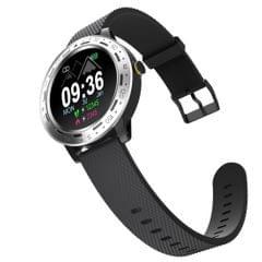 S18 1.3 inch TFT Screen IP67 Waterproof Smart Watch Bracelet, Support Sleep Monitor / Heart Rate Monitor / Blood Pressure Monitoring (Silver Black)