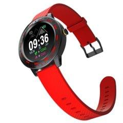 S18 1.3 inch TFT Screen IP67 Waterproof Smart Watch Bracelet, Support Sleep Monitor / Heart Rate Monitor / Blood Pressure Monitoring (Red)