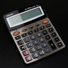 Deli 1559N Live Voice Calculator Multifunctional Office Finance 12-bit Calculator