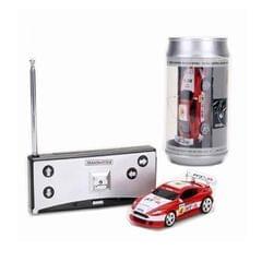 Coke Can Mini RC Car Radio Remote Control Micro Racing Car (Red)