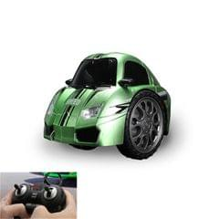 Remote Control Car Children 360 Degree Rotating Drift Dump Electric Two-wheeled Stunt Car Model Racing Toy, Proportion: Rechargeable Version (Rambo Green)