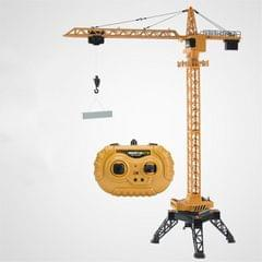 1.25m 12 Channel Remote Control Electric Tower Crane Engineering Model Charging Lifting Crane Children Toy