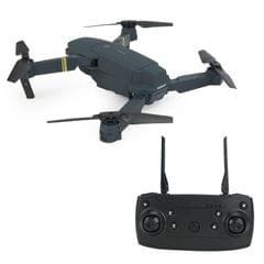 DHD-DE58 Foldable Four Axis RC Quadcopter Drone Remote Control Aircraft (Black)