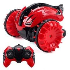 2.4G Amphibious Rotary Rolling Remote Control Car (Red)