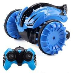 2.4G Amphibious Rotary Rolling Remote Control Car (Blue)