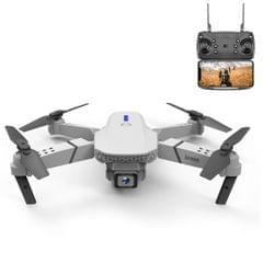 LS-E525 4K Double HD Camera Mini Foldable RC Quadcopter Drone Remote Control Aircraft (White)