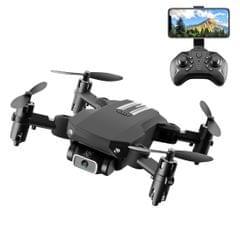 LS-MIN 4K Pixels Foldable RC Quadcopter Drone Remote Control Aircraft, Box Packaging (Black)
