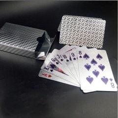 Creative Frosted Golden Tattice Back Texture Plastic From Vegas to Macau Playing Cards Texas Poker Novelty Collection Gift (Style5)