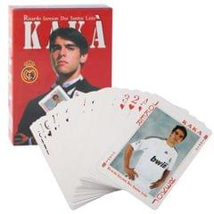 Football Star Kaka Pattern Poker Cards Playing Set Collection