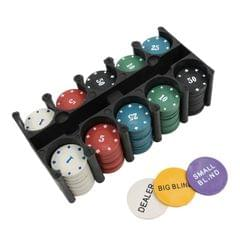 2 PCS Leisure Chess Game Poker Chip Set