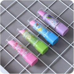 10 PCS Creative Lipstick Styling Eraser Random Pattern Delivery