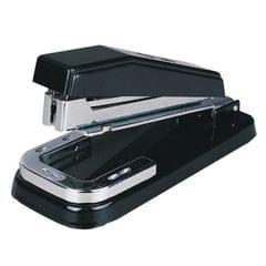2 PCS Deli 0414 Stapler Portable Rotatable Stapler 0012 Staple Nail (Black)