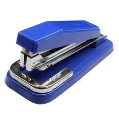 2 PCS Deli 0414 Stapler Portable Rotatable Stapler 0012 Staple Nail (Blue)
