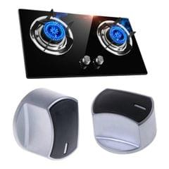 Gas Stove Knob Switch Metal Button Lighter Handle Gas Stove Accessories (8mm 45 Degrees)