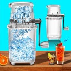 Small Household Manual Ice Crusher Multifunctional DIY Hand-Cranked Ice Machine