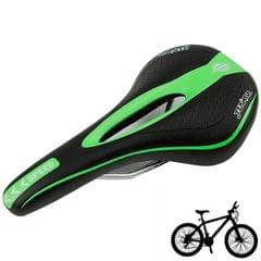 New Bike Race Saddle Bicycle Saddle Seat MTB for Body Comfortable, 451A (Green)