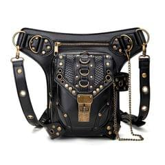 HG043 Retro One-shoulder Bag Cross-body Bag Waist Bag for Ladies, Size: 34 x 30cm