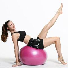 Thickening Explosion-proof Big Yoga Ball Sport Fitness Ball Environmental Pregnant Yoga Ball, Diameter: 65cm (Pink)