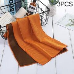 3 PCS Absorbent Polyester Quick-drying Breathable Cold-skinned Fitness Sports Portable Towel, Package:30x100 Clasp Cup (Croci)