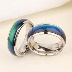 10 PCS Fine Jewelry Mood Ring Color Change Emotion Feeling Mood Ring Changeable Band Temperature Ring, Ring Size:18mm