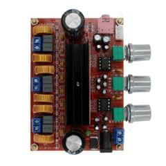 LDTR-WG0197 2.1 Channel Digital Amplifier Board Module with 12V-24V Wide Voltage, TPA3116D2, 50W+50W+100W (Red)