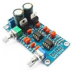 Dual NE5532 Subwoofer Processing Circuit Low Pass Filter Circuit Board Kit