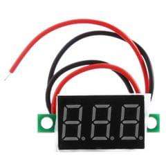 DC 4.5 - 30V LED Panel Voltmeter Digital Voltage Meter
