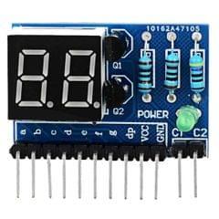 LDTR - SMG2 0.36 inch 2 Bit Digital Tube LED Module for Arduino Lovers