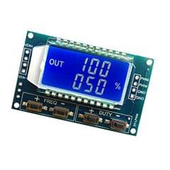 PWM Pulse Frequency Duty Cycle Adjustable Square Wave Signal Generator Module LCD Display Blue Backlit