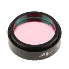 1.25'' Ultra High Contrast UHC Light Pollution Reduction Filter Metal Case for Telescope Eyepiece