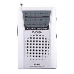 Mini Portable Pocket AM FM Radio Speaker Telescopic Antenna 3.5mm Jack