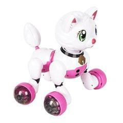Smart Interactive Robot Voice Recognition Kitty Cat Educational Toy Gift for Kids Boys Girls