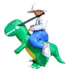 Inflatable Dinosaur Riding Small Kids Halloween Cosplay Costume Fancy Dress