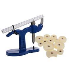 Watch Back Case Closer Press Capper Repair Kit with 12pcs Dies