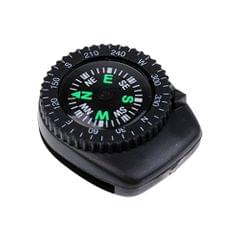 Mini Precision Watchband Clip-on Wrist Compass Navigation Walking Boating Map Reading Outdoor Survival Tools
