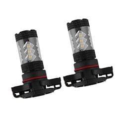 2 Piece Super White High Power 80W H16 5202 5201 LED DRL Fog Lights 1920LM