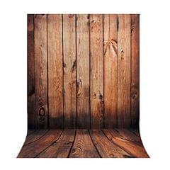 1.5m*1m Wood Wall Floor Studio Prop Photography Background Photo Backdrop
