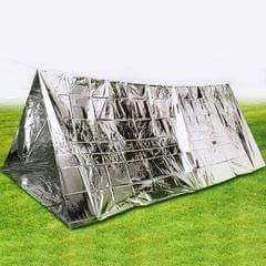 Outdoor Solutions Survival Emergency 2 People Shelter Tent (Silver)