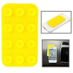 Anti-Slip Mat Super Sticky Pad for Phone / MP4 / MP3 (Yellow)